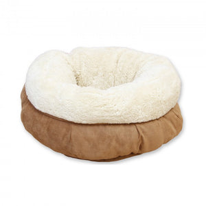 All For Paws Donut Bed Tan