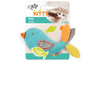 All For Paws Kitty Birdy with Catnip, Kitten Toy