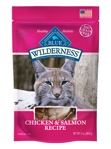 BLUE Wilderness® Chicken & Salmon Grain-Free Cat Treats