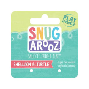 snugarooz snug arooz plush dog toy baby shelldon sheldon 712038962815 077229