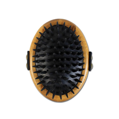 Bamboo Groom Curry Brush