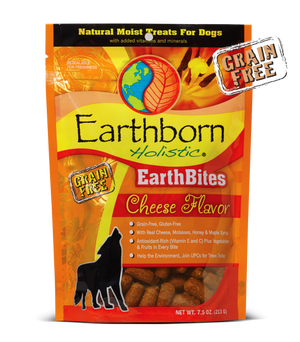 earthborn holistic earth bites cheese flavor dog treat