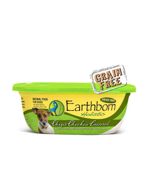 Earthborn Holistic Grain Free Chip's Chicken Casserole Wet Dog Food