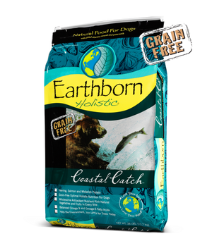 earthborn holistic coastal catch grain free dog food fish