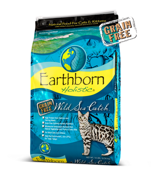 Earthborn Holistic Wild Sea Catch Grain-Free Dry Cat Food
