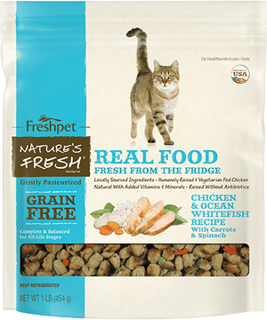 freshpet fresh pet natures fresh grain free chicken cat food