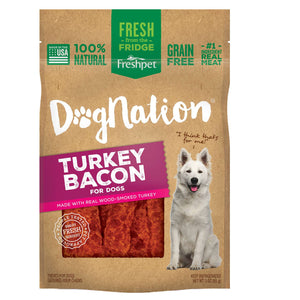 freshpet fresh pet dog nation turkey bacon treat