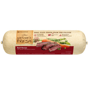 freshpet fresh pet natures fresh beef roll dog food