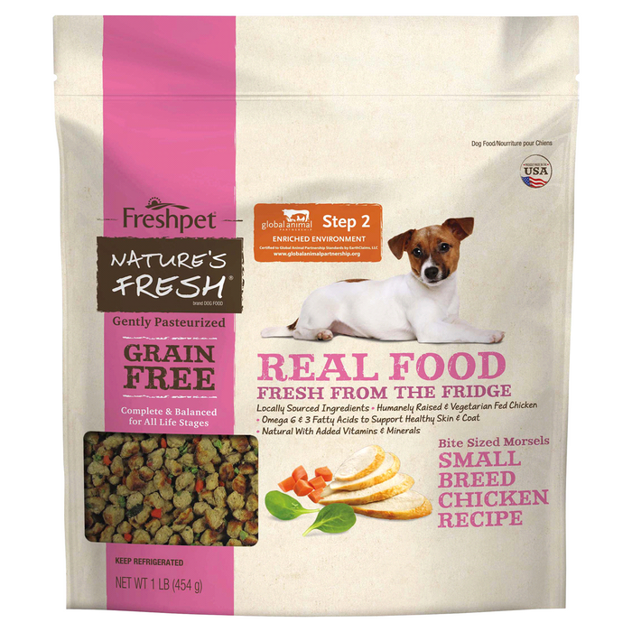 Freshpet Nature's Fresh Grain Free Small Breed Chicken Nibs