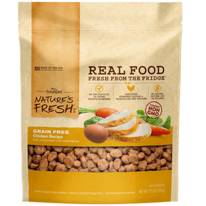 freshpet fresh pet natures fresh grain free chicken dog food