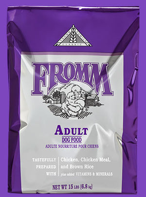 fromm classic adult dog food dog diet chicken and rice