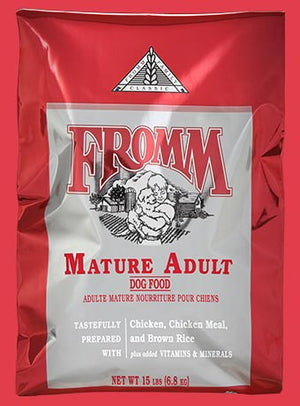 fromm classic mature adult dog food dog diet chicken and rice