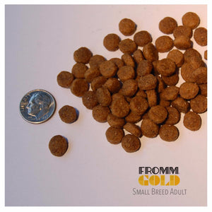 fromm gold adult small breed dog food dog diet kibble