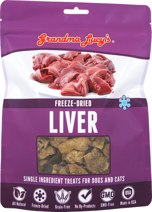 grandma lucy freeze dried chicken liver 84358002 884308580026