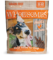 Wholesomes Grain Free Heidi's Moist Chicken Treats 25 oz