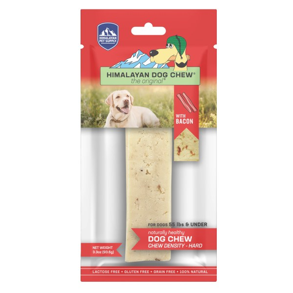 Himalayan Dog Chew Bacon Large - Under 55 lb