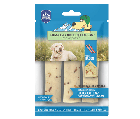 Himalayan Dog Chew Bacon Small - Under 15 lb