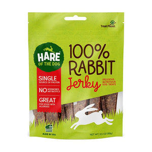 Hare of the Dog 100% Rabbit Jerky 3.5 oz