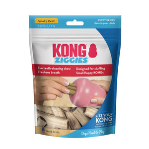 kong ziggies puppy chew dental