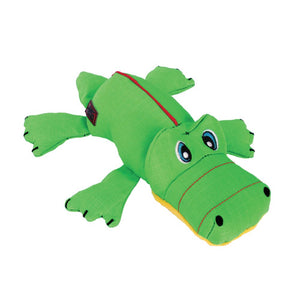 kong cozie ultra ana alligator plush dog toy
