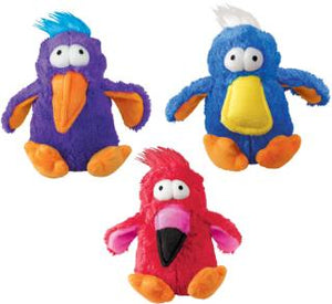 kong dodo bird plush squeak toy dog 035585214122 269792