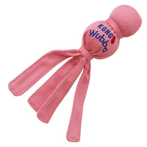 Kong Puppy Wubba Fetch Toy, Pink or Blue