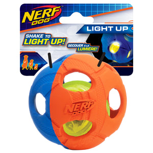 nerf dog led bash ball medium