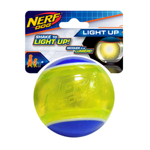 nerf dog led blaze tennis ball