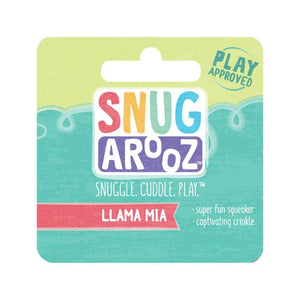 snugarooz snug arooz plush dog toy llama mia 712038962822 077230