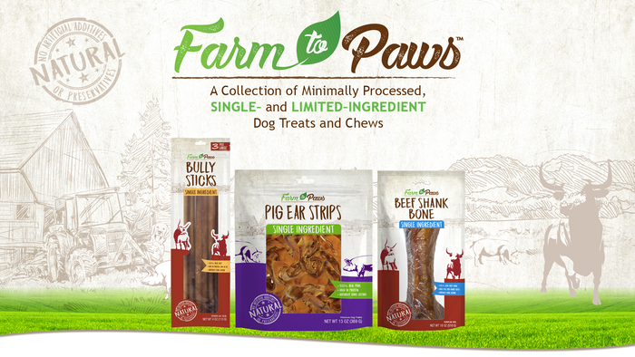 Farm to Paws - Beef Rib Bones 3 Pack