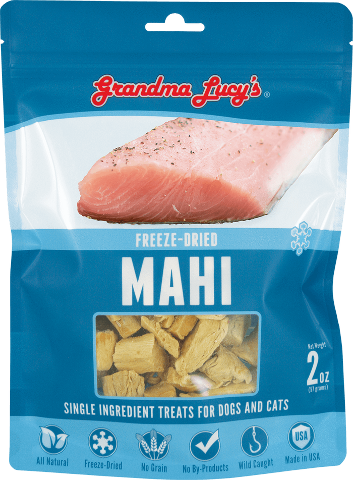 Grandma Lucy's Freeze Dried Mahi 2 oz - Single Ingredient