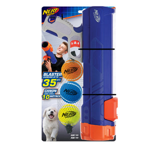nerf dog tennis ball blaster mini puppy small dog