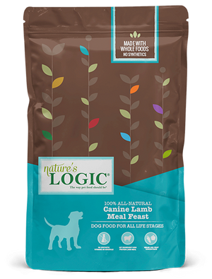 natures nature's logic lamb canine dog food dog diet