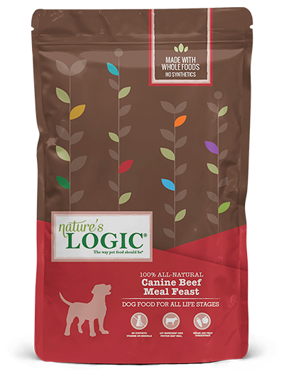 Nature's Logic Canine Dry Beef Meal Feast Dog Food