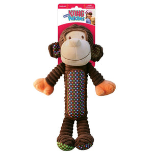 kong patches adorables monkey xl dog toy