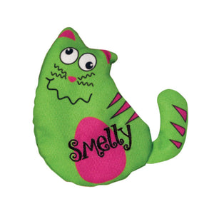kong purrsonalities personalities refillable catnip cat toy smelly