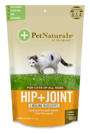 pet naturals of vermont hip and joint for cats 30 count