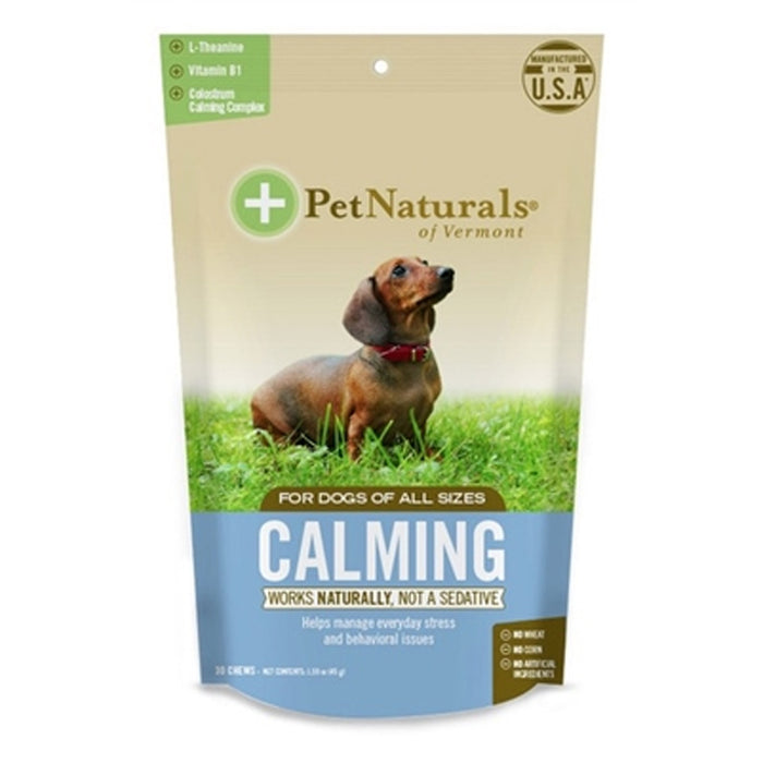 Pet Naturals Calming for All Dogs 30 Chews