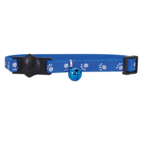 Petmate Adjustable Reflective Breakaway Safety Cat Collar with Bell
