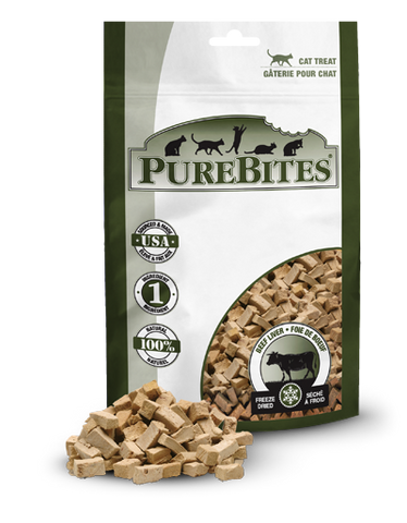 PureBites® Freeze-Dried Beef Liver Cat Treats