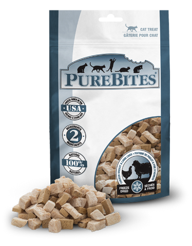 PureBites® Freeze-Dried Chicken Breast & Lamb Liver Cat Treats
