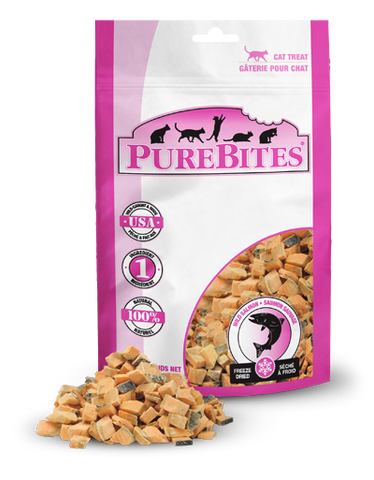 PureBites® Freeze-Dried Wild Pacific Salmon Cat Treats