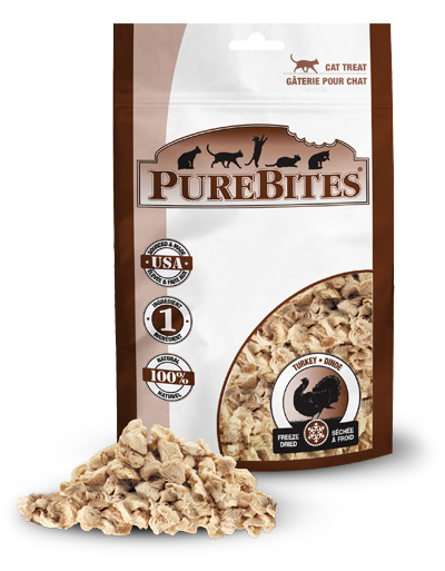 PureBites® Freeze-Dried Turkey Breast Cat Treats