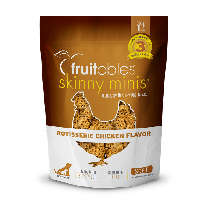 Fruitables® Skinny Minis™ Soft Dog Treats Rotisserie Chicken 5 oz