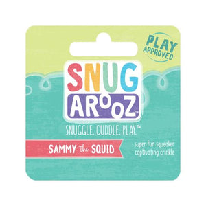 snugarooz snug arooz plush dog toy sammy the squid 712038962372 077020