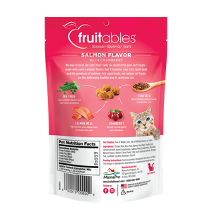 Fruitables Salmon and Cranberry Cat Treats 2.5 oz