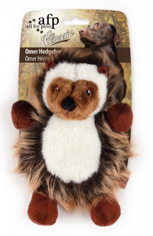 All for Paws Dog Toy Classic Omer Hedgehog