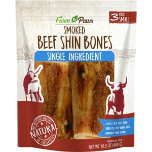 Farm to Paws - Smoked Shin Bones 3 Pack
