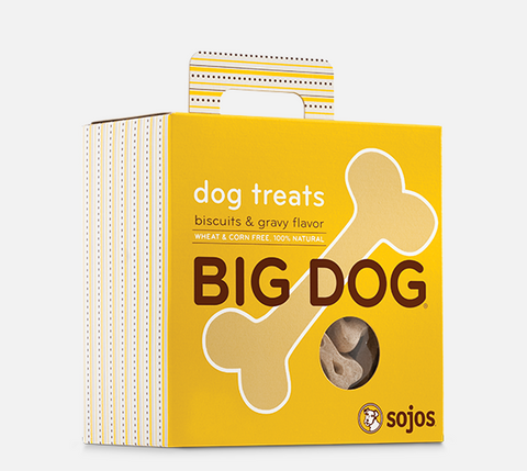 sojos Big Dog Treats Biscuits & Gravy