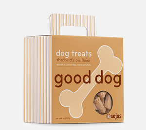 sojos dog treats shepherd's shepherds pie flavor good dog 755709005084 557111